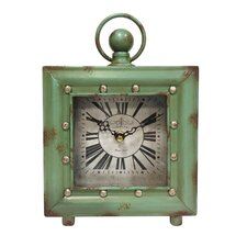 Quartz Case Table Clock