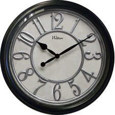 "20"" Raised Plastic Number Ring / Case Wall Clock"