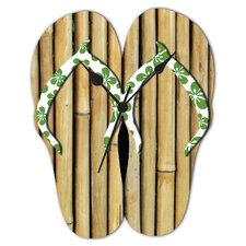 MDF Flip Flop Shaped Wall Clock