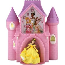 Princess Castle Quartz Analog Bank Alarm Clock