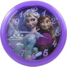 "9.75"" Disney Frozen Wall Clock"