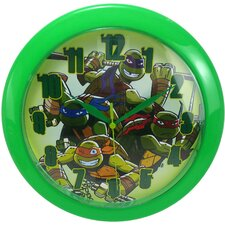 "9.75"" Teenage Mutant Ninja Turtle Wall Clock"