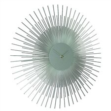 "17"" Sunburst Wall Clock"