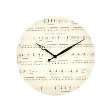 "16"" Music Note Wall Clock"