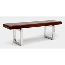 GAX Leather Bench