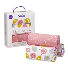 Snuz Little Tweets 3 Piece Crib Bedding Set