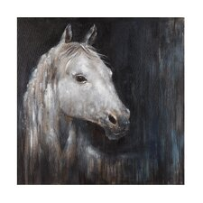 Mystical Horse Original Painting on Wrapped Canvas