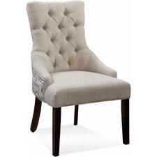 Fortnum Ceylan Tufted Nailhead Parson Side Chair (Set of 2)
