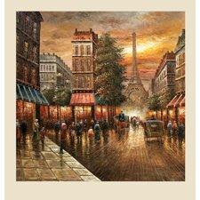 Paris Nights Original Painting on Canvas