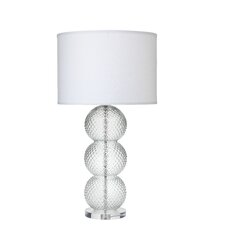 """Champagne 31"""" H Table Lamp with Drum Shade"""