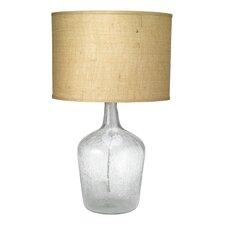 "Medium Plum Jar 27.25"" H Table Lamp with Drum Shade"