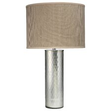 """Gossamer 33"""" H Table Lamp with Drum Shade"""