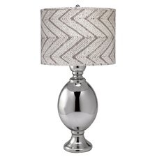 "Saint Charles 35"" H Table Lamp with Drum Shade"