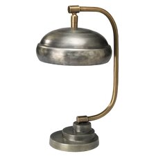 "Steam Punk 14"" H Table Lamp with Dome Shade"