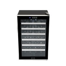 28 Bottle Single Zone Freestanding Wine Refrigerator
