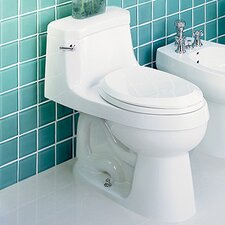 Palermo Chair-Height 1.28 GPF Elongated 1 Piece Toilet