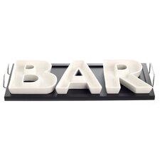 4 Piece Bar Divided Serving Dish Set