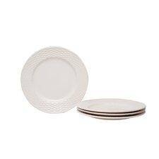 "Nantucket White 8.5"" Set of 4 Salad Plates (Set of 4)"