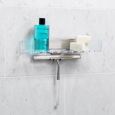 Linea Wall Mounted Shower Basket and Squeegee Set
