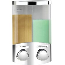 Euro Duo Dispenser with Translucent Containers