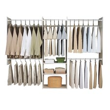 "Deluxe 96"" Wide Closet System"