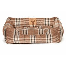 Newton Truffle Snuggle Pet Bed in Brown
