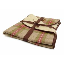 Newton Moss Throw in Brown/Green