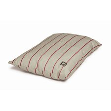 Heritage Herringbone Dog Deep Duvet in Beige and Red