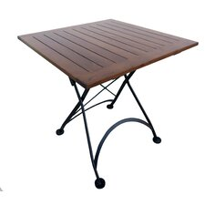 French Café Folding Bistro Table