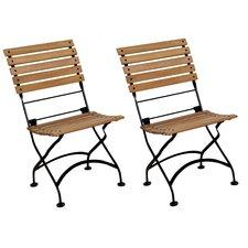 European Grande Café Folding Side Chair (Set of 2)