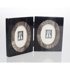 Serengeti Double Horn Picture Frame