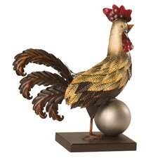 Rooster Decor Figurine