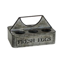 Country Farmhouse 6-Pack Egg Caddy