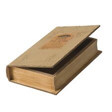 Wood Book Storage Box