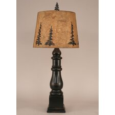"""Rustic Living Country Squire 34"""" H Table Lamp with Empire Shade"""
