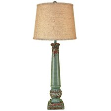 """Casual Living Table Leg 38.5"""" H Table Lamp with Empire Shade"""