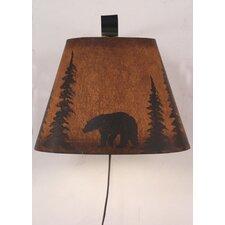 Bear 1 Light Wall Sconce