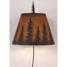 Pine Tree 1 Light Wall Sconce