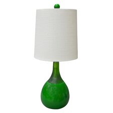 "Graphic Appeal Malibu 21"" H Table Lamp with Empire Shade"