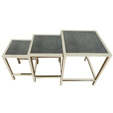 Hollywood 3 Piece Nesting Tables