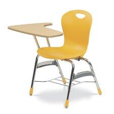 """Zuma Laminate 32.25"""" Combo Chair Desk"""