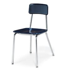 "3300 Series 18"" Plastic Classroom Chair"