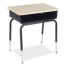 785 Series Plastic Adjustable Height Open Front Desk