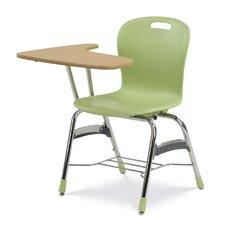 "Sage Series 34"" Tablet Arm Combo Chair Desk"