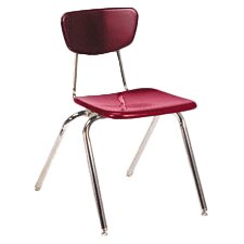 3000 Series Plastic Classroom Chair (Set of 4)
