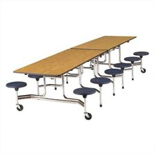 "12"" x 30"" Rectangular Cafeteria Table"