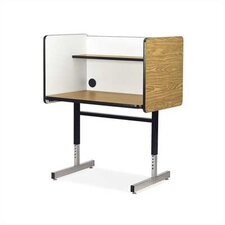 8700 Series Wood and Steel Study Carrel
