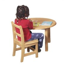 "12"" Wood Classroom Chair"