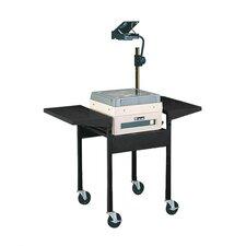 Adjustable Height AV Cart with Overhead Projector