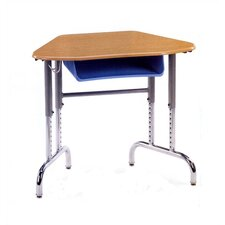 7900 Series Plastic Adjustable Height Open Front Desk